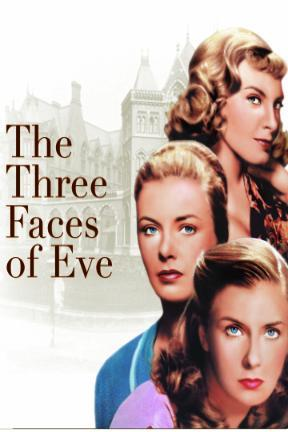 poster for The Three Faces of Eve
