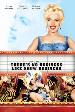 poster for There's No Business Like Show Business