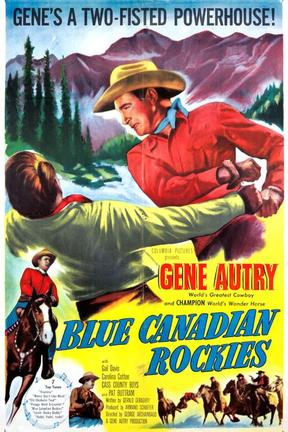 poster for Blue Canadian Rockies