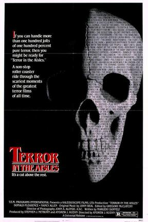 poster for Terror in the Aisles