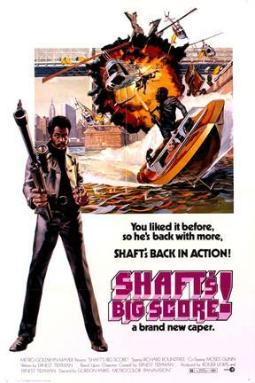 poster for Shaft's Big Score!