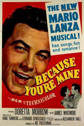 poster for Because You're Mine