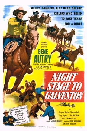 poster for Night Stage to Galveston