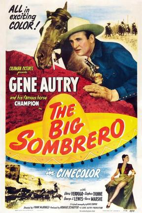 poster for The Big Sombrero