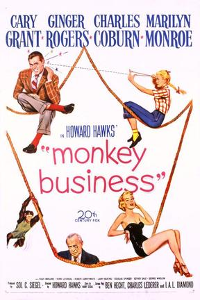 poster for Monkey Business