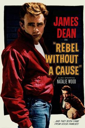 poster for Rebel Without a Cause