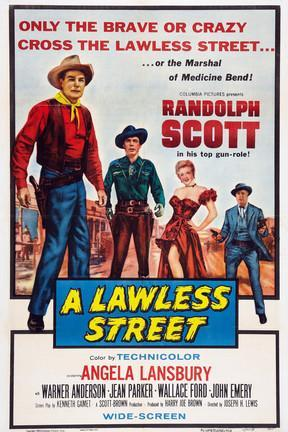 poster for A Lawless Street