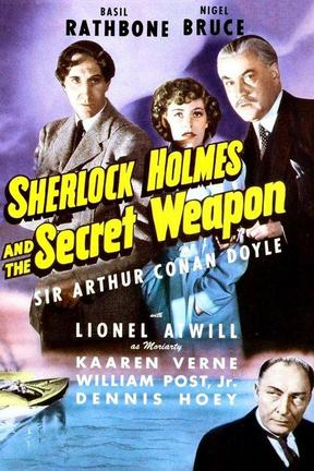 poster for Sherlock Holmes and the Secret Weapon