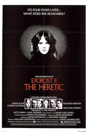 poster for Exorcist II: The Heretic