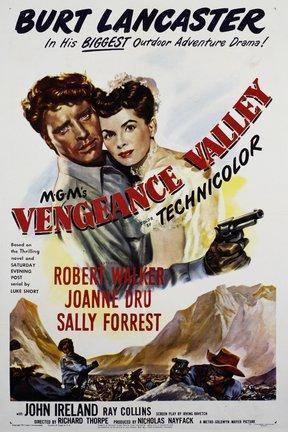 poster for Vengeance Valley