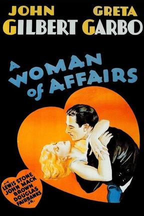 poster for A Woman of Affairs
