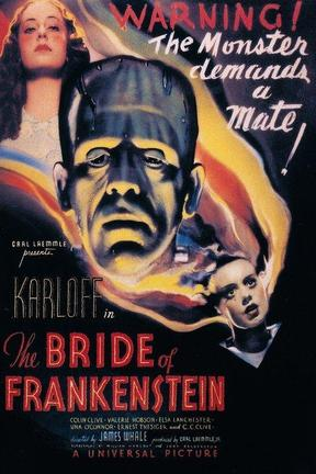poster for Bride of Frankenstein