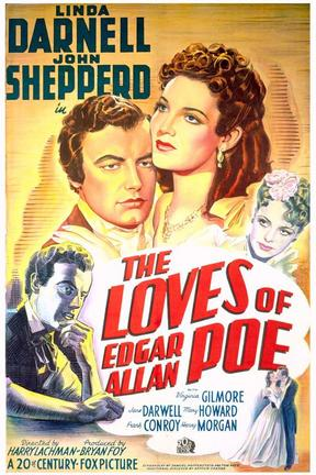 poster for The Loves of Edgar Allan Poe