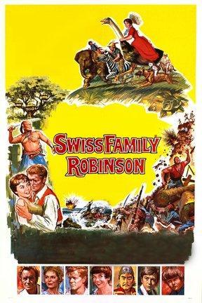poster for Swiss Family Robinson