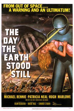 poster for The Day the Earth Stood Still