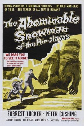 poster for The Abominable Snowman of the Himalayas