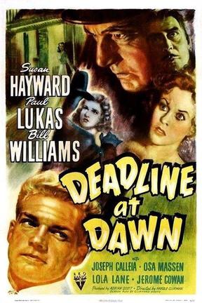 poster for Deadline at Dawn