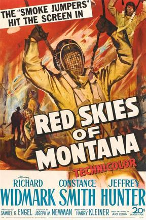 poster for Red Skies of Montana