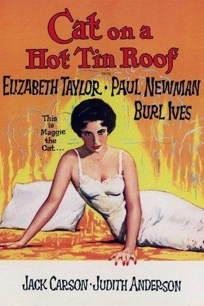 poster for Cat on a Hot Tin Roof