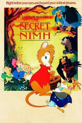 poster for The Secret of NIMH