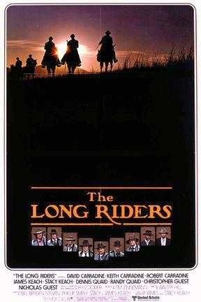 poster for The Long Riders