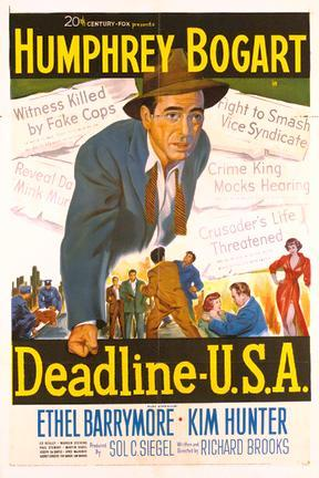 poster for Deadline U.S.A.