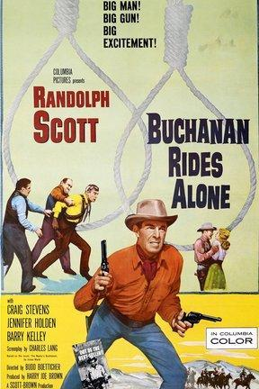 poster for Buchanan Rides Alone