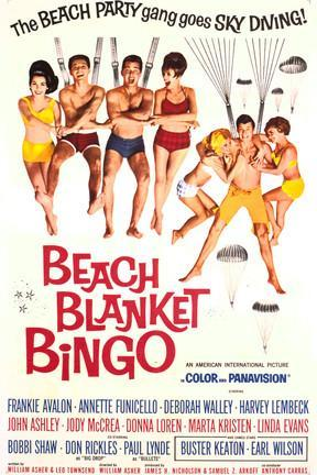 poster for Beach Blanket Bingo