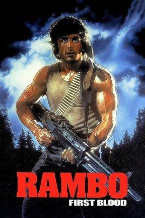 poster for Rambo: First Blood