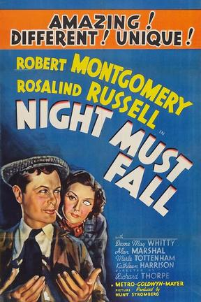 poster for Night Must Fall