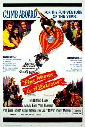 poster for Five Weeks in a Balloon
