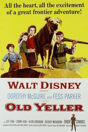 poster for Old Yeller