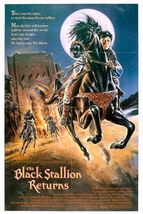 poster for The Black Stallion Returns