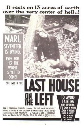 poster for Last House on the Left