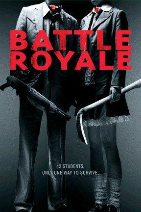poster for Battle Royale