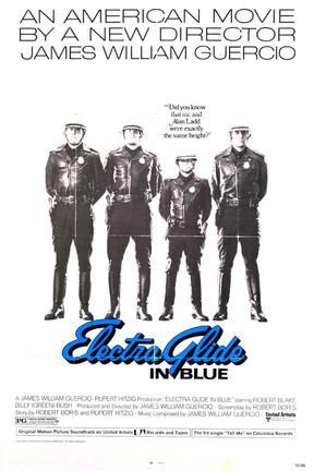 poster for Electra Glide in Blue