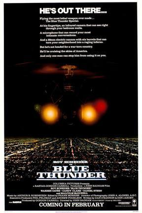 poster for Blue Thunder