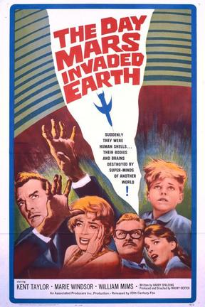 poster for The Day Mars Invaded Earth
