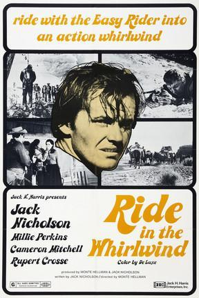 poster for Ride in the Whirlwind