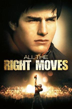 poster for All the Right Moves