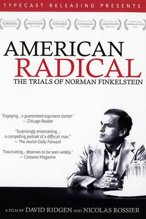 poster for American Radical: The Trials of Norman Finkelstein