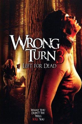 poster for Wrong Turn 3: Left for Dead