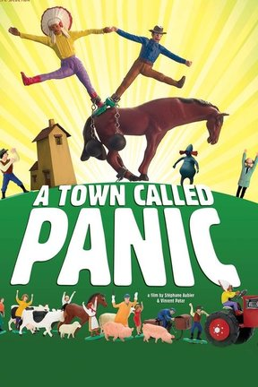 poster for A Town Called Panic