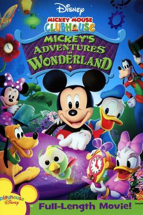 poster for Mickey's Adventures in Wonderland