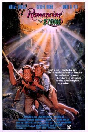 poster for Romancing the Stone