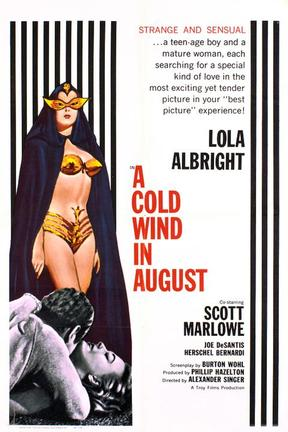 poster for A Cold Wind in August