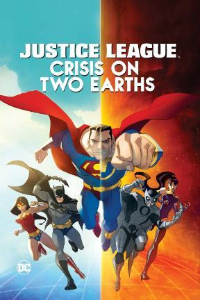 poster for Justice League: Crisis on Two Earths