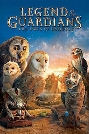 poster for Legend of the Guardians: The Owls of Ga'Hoole
