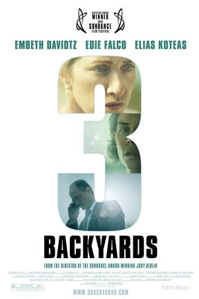 poster for 3 Backyards