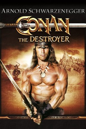 poster for Conan the Destroyer